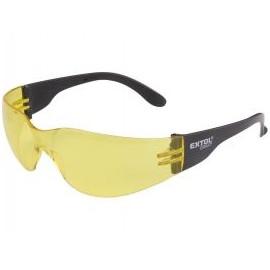 Okuliare ochranné žlté