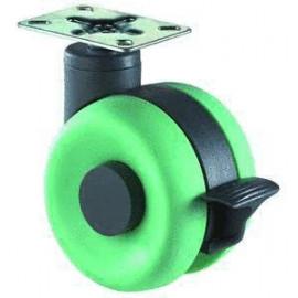 Dizajnové zelené koliesko...