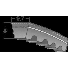 Klinový remeň XPZ 637 Lw/650 La / BANDO
