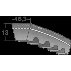 Klinový remeň XPB 1650 Lw/1672 La / BANDO