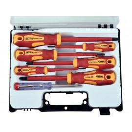 Sada skrutkovačov elektrikárske 1000V 7-dielna EXTOL 53087