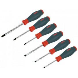 Sada skrutkovačov magnetická Cr-V  6-dielna EXTOL 8819215