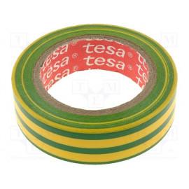 Páska 15mm/10M izolačná žlto-zelená TESA 95394