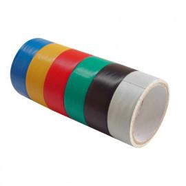 Páska lepiaca izolačná 18mm/3M (sada 6 ks) 9550