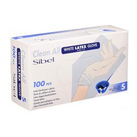 """Rukavice jednorázové SIBEL CLEAN ALL - LATEX """"M"""" 100ks"""