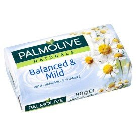 Palmolive Naturals Balanced & Mild Tuhé mydlo 90 g