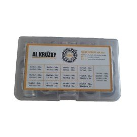 Krúžky AL - sada 355 ks