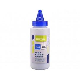 Modrá prášková farba do maliarskej šnúry 100g EXTOL 547
