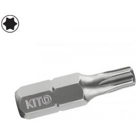 Bit torxový vrtaný TX 6x25 mm KITO 4810481