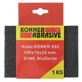 Huba KONER S92 100x70x25 mm, G180, AluOxide