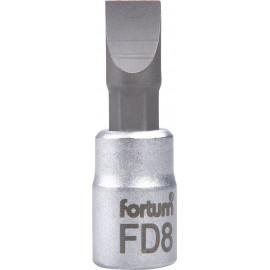 """Hlavica zástrčná 1/4"""" 8 mm  plochy FORTUM 4701803"""