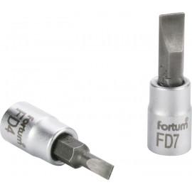 """Hlavica zástrčná 1/4"""" 7 mm plochy FORTUM 4701802"""