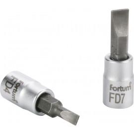 """Hlavica zástrčná 1/4"""" 5.5 mm plochy FORTUM 4701801"""