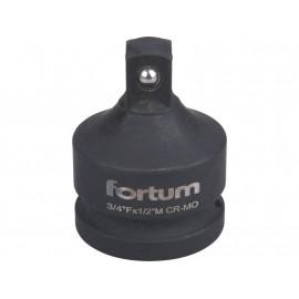 Adaptér Cr-V z 3/4'' na 1/2'' FORTUM 4703108