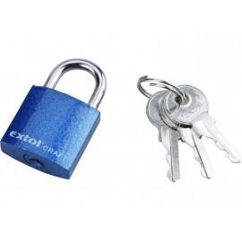 Zámok visací liatinový 25 mm + 3 kľúče EXTOL 77005