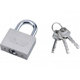 Oceľový visiaci zámok 50 mm + 3 bezpečnostné kľúče EXTOL 8857405