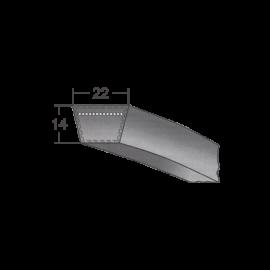 Klinový remeň 22X3150 Li/3200 Lw