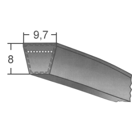 Klinový remeň SPZ 1475...