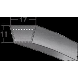 Klinový remeň 17X1075 Li/1115 Lw MAXBELT SLOVAKIA PREMIUM
