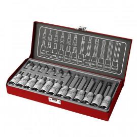 Nástrčné imbusových kľúče 2-14mm 18-dielna sada FORTUM 4700008
