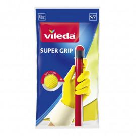 "Gumené rukavice SUPERGRIP 8"" M VILEDA"