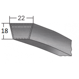 Klinový remeň SPC 4750 Lw/4780 La BANDO