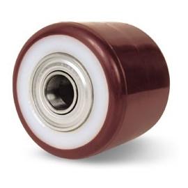 Polyamidové koliesko na paletový vozík 82x70 mm