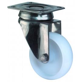 Nerezové prístrojové koliesko 75x23 mm otočná kladka