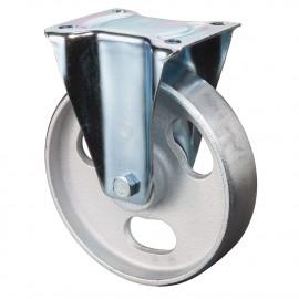 Teplovzdorné liatinové koliesko 80x30 mm pevná kladka