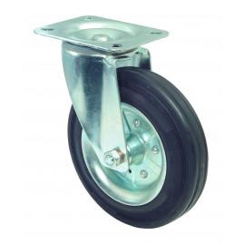 Transportné antistatické koliesko 80x30 mm otočná kladka