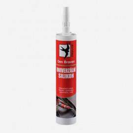 Univerzálny silikón - čierny 280 ml DEN BRAVEN 30125RL