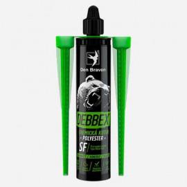 Chemická kotva bez styrénu POLYESTER SF - šedá 280 ml DEN BRAVEN 74014BD