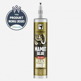 MAMUT GLUE - 290 ml Lepidlo silikónové - 290 ml MAMUT GLUE DEN BRAVEN 51910BD