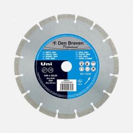 Diamantový kotúč UNI PROFI 150 mm DEN BRAVEN AB302