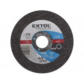 Kotúč rezný na kov 115x1.6x22.23 EXTOL 8808110