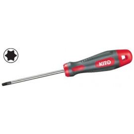 Skrutkovač KITO torx T6 100...