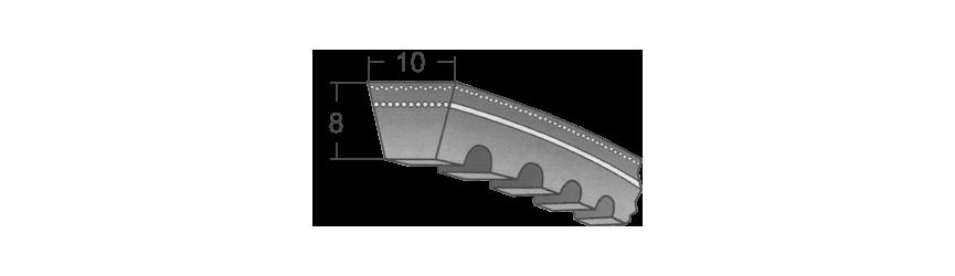 Klinové remene AVX 10 BANDO