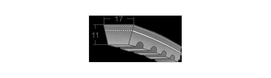 Klinové remene AVX 17 BANDO