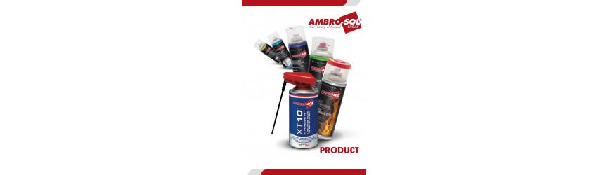 AMBRO-SOL mazacie spreje, čističe, tesniace hmoty, vazelíny