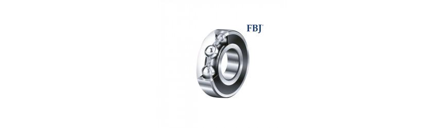 Jednoradové guľkové ložiská kryté plastom FBJ