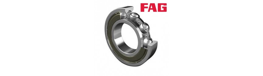 Jednoradové guľkové ložiská kryté plastom FAG