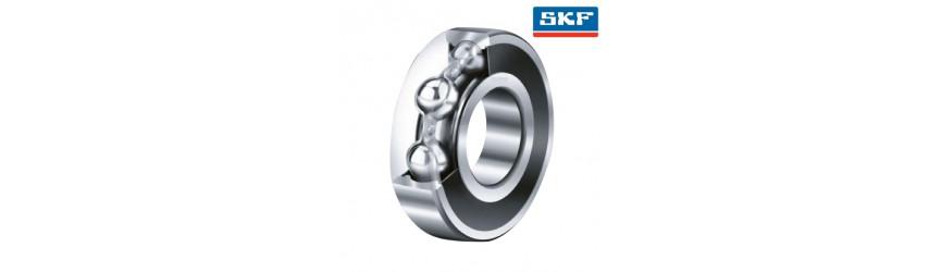 Jednoradové guľkové ložiská kryté plechom SKF