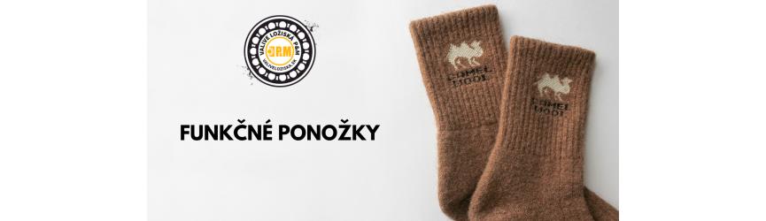 Teplé ponožky z mongolskej vlny - ťavia, ovčia, jačia vlna