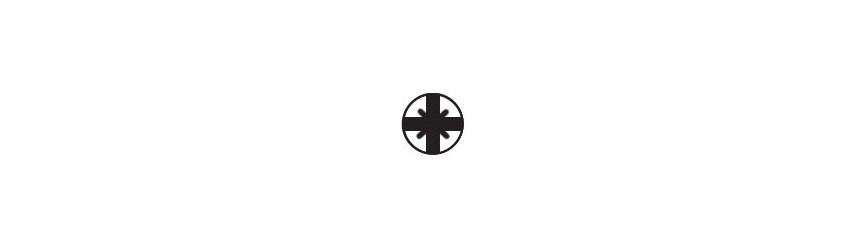 Samostatné skrutkovače krížové PZ
